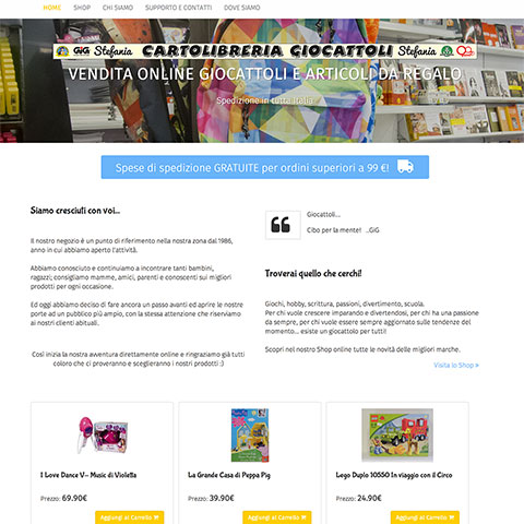 Servizi personalizzati crea il tuo sito web for Crea il tuo sito web personale