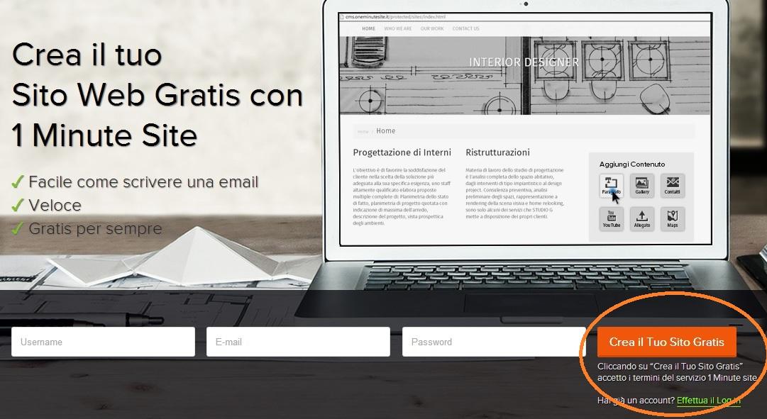 Creare un sito come creare un sito gratis crea il tuo sito web personalizzato e - Crea il tuo divano ...