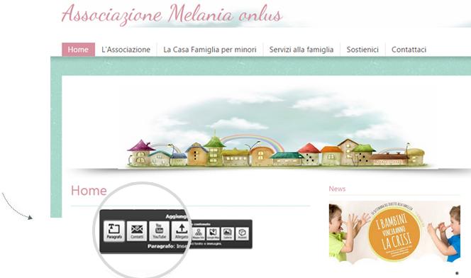 Creare sito web per associazioni no profit 1minutesite for Sito web per costruire la tua casa