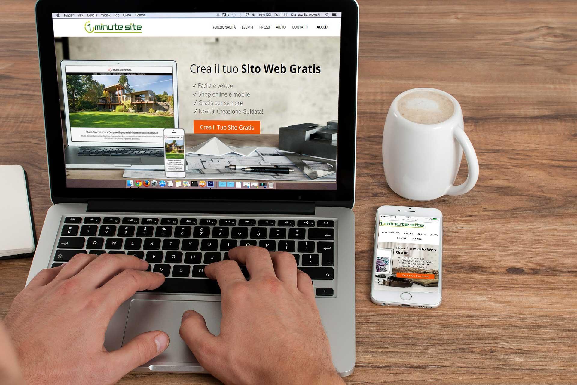 Grafica siti web crea il tuo sito web personalizzato con for Crea il tuo sito web personale
