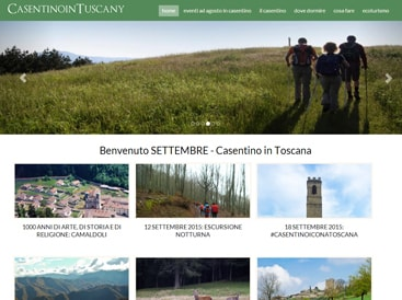 Casentino in Toscana