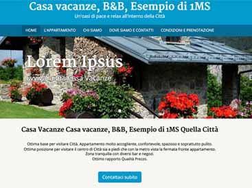 Creare un sito web 1minutesite for Sito per progettare casa