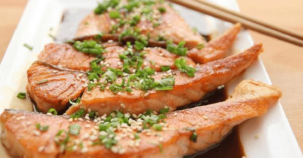 tranci di salmone